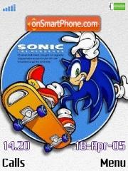 Sonic 02 theme screenshot