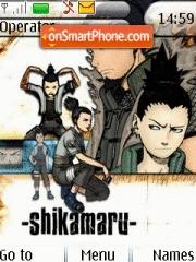 Shikamaru tema screenshot