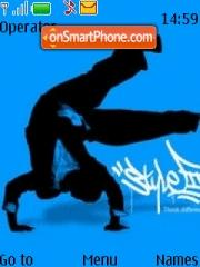 Bboy Jam theme screenshot