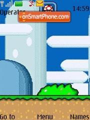 Скриншот темы Super Mario World