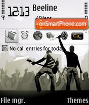 Concert theme screenshot