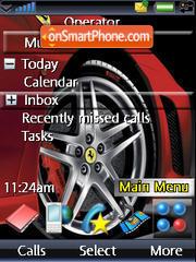 Red Ferrari es el tema de pantalla
