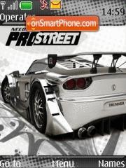 ProStreet theme screenshot
