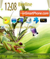 Frog S60v3 theme screenshot