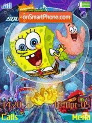 Spongebob N Patrick 01 es el tema de pantalla