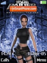 Lara Croft 02 es el tema de pantalla
