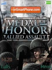 Medal Of Honour es el tema de pantalla