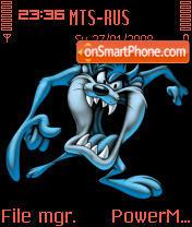 Taz Blue theme screenshot