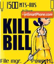 Funy Kill Bill theme screenshot