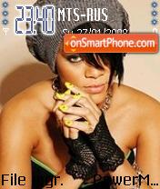 Rihanna 07 es el tema de pantalla