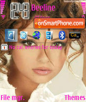 Miriam Fares theme screenshot
