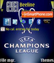 UEFA theme screenshot