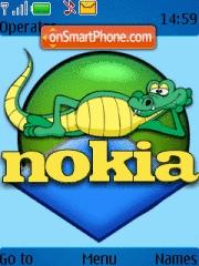 Krokadil Nokia theme screenshot