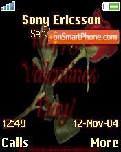 Happy Valentines Day theme screenshot