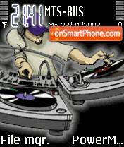 Animated DJ tema screenshot