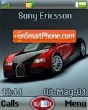 Bugatti Veyron 03 theme screenshot
