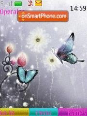 Butterfly 129 theme screenshot