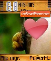 Snail n Boob es el tema de pantalla