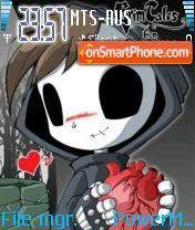 Grim Tales theme screenshot