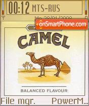 Camel 02 theme screenshot