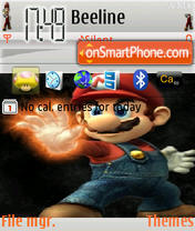 Mario Theme theme screenshot