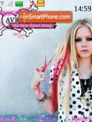 Avril Lavigne 05 theme screenshot