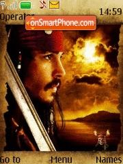 Jack Sparrow 04 theme screenshot