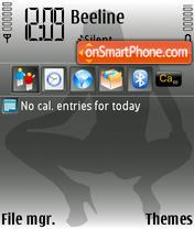 Voyeur yI theme screenshot