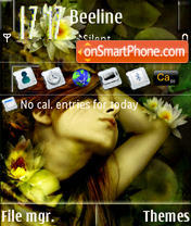 Ophelia S60v3 theme screenshot