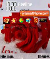 Cold Rose es el tema de pantalla