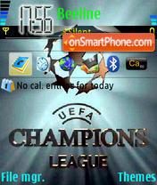 UEFA Champions League 01 es el tema de pantalla
