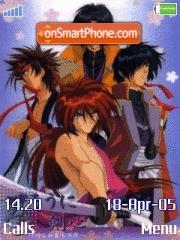 Samurai X es el tema de pantalla