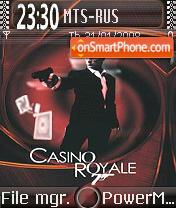 Casino Royale 01 theme screenshot