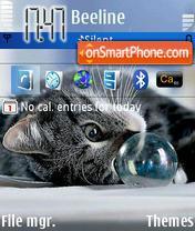 Kisa theme screenshot