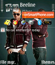 Bow Wow And Omarion theme screenshot
