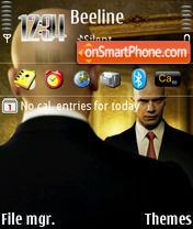 Скриншот темы Hitman 05