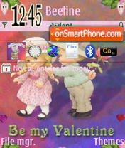 Be My Valentine theme screenshot