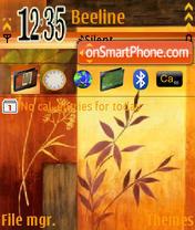Brown Art theme screenshot