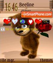 Valentine Tady S60v3 theme screenshot