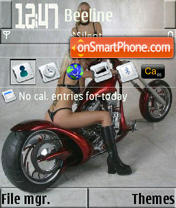 Bike 01 S60v3 theme screenshot