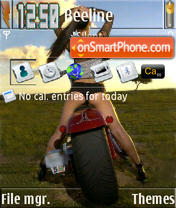 Bike 02 S60v3 theme screenshot