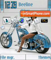 Bike 04 S60v3 theme screenshot