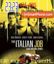The Italian Job theme screenshot