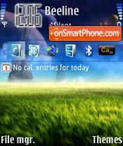 Omid Space tema screenshot