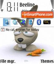 Lazy Rabbit theme screenshot