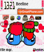 Valentine 04 tema screenshot