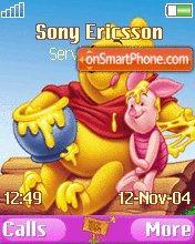 Pooh And Piglet es el tema de pantalla