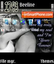 Скриншот темы Foreverlov