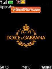 Dolce Gabbana V2 es el tema de pantalla