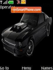 Скриншот темы Mustang Obsidian